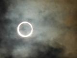 金環日食です